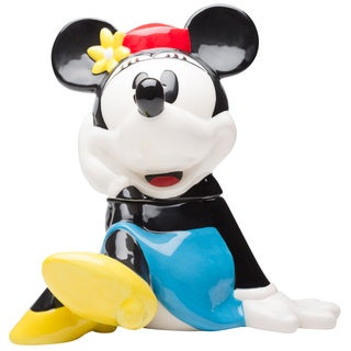 Minnie Mouse Shaped Cookie Jar