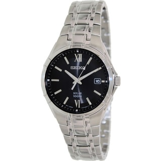 Seiko Men's SNE215 Stainless Steel Quartz Watch