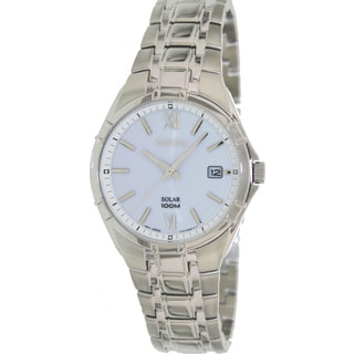 Seiko Men's SNE213 Silver Stainless Steel Quartz Watch