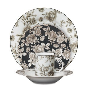 Isaac Mizrahi 'Madison Bloom' 16-piece Dinnerware Set