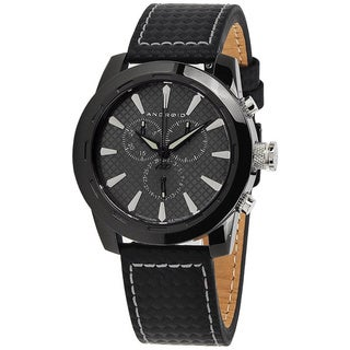 Android Men's 'Caprice' Black Dial Chronograph Watch