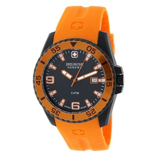 Swiss Military Hanowa Men's Ranger Orange Rubber Swiss Quartz Watch