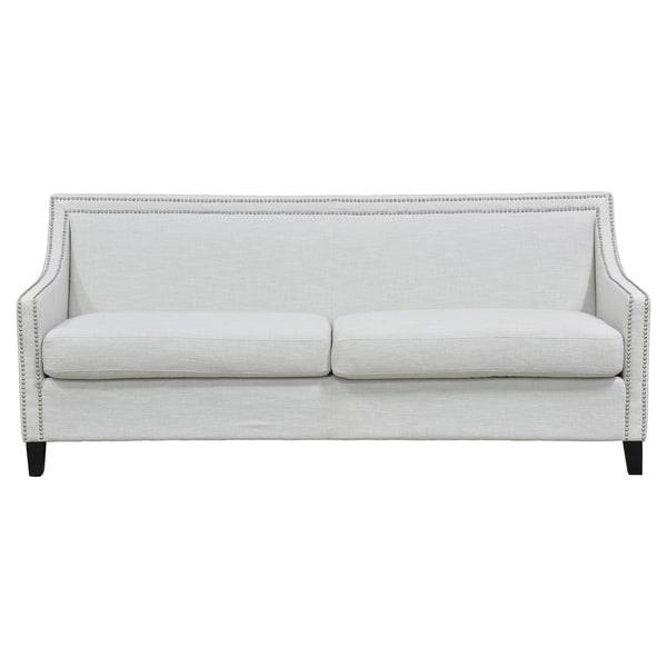 Kosas Home White Bella Sofa
