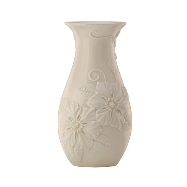 Lenox Off-white Floral Fields Vase