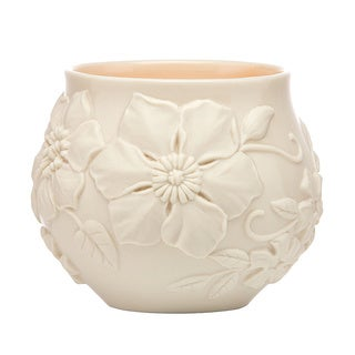 Lenox Off-white Floral Fields Votive Candle Holders (Set of 2)