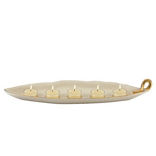 Lenox Eternal Leaf Tealight Centerpiece