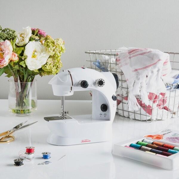 Sunbeam Mini Sewing Machine with Kit
