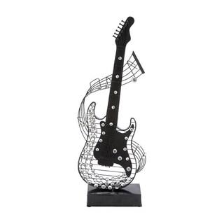 Metal and Acrylic Guitar