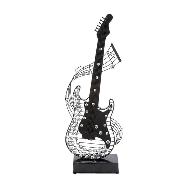 Metal and Acrylic Guitar