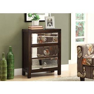 Transitional 3-drawer Bombay Chest