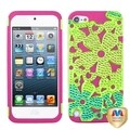 BasAcc FlowerPower Hybrid Case with Diamonds for Apple� iPod Touch 5