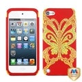 BasAcc Butterflykiss Hybrid Case with Diamonds for Apple� iPod Touch 5