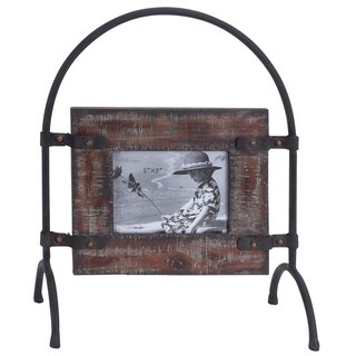Unique Wood and Metal Photo Frame