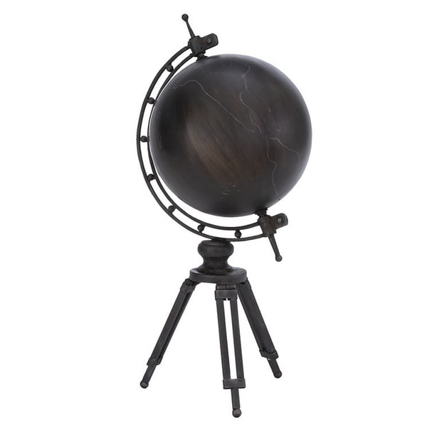 Metal Globe with Arc Shape