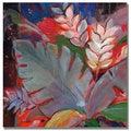 Shelia Golden 'Tropic Night II' Canvas Art