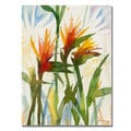 Shelia Golden 'Birds of Paradise' Canvas Art