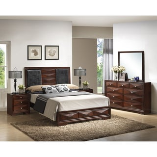 Windsor Brown 5-Piece Modern Bedroom Set