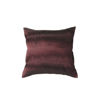 Hand-textured Cotton Ruffle Decoarative Pillow