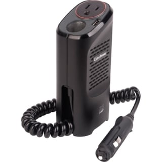 CyberPower CPS150CHURC1 Mobile Power Inverter 150W with 2.1A USB Char