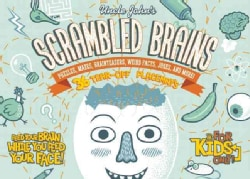 Uncle John's Scrambled Brains: Puzzles, Mazes, Brainteasers, Weird Facts, Jokes, and More! 36-Tear-Off Placemats (Paperback)