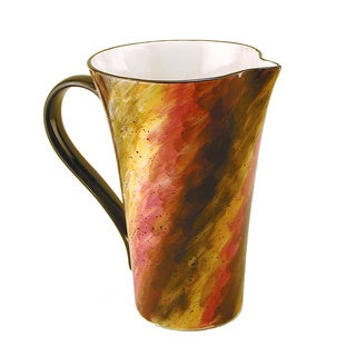 Ceramic Tortoise Shell Pitcher (Italy)