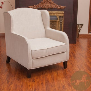 Christopher Knight Home Tilly Natural Fabric Club Chair