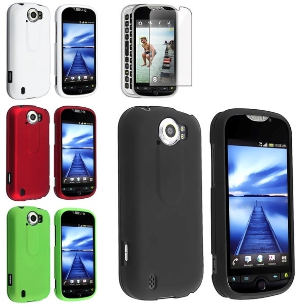 BasAcc 4-case Set/ LCD Protector for HTC T-Mobile MyTouch 4G Slide