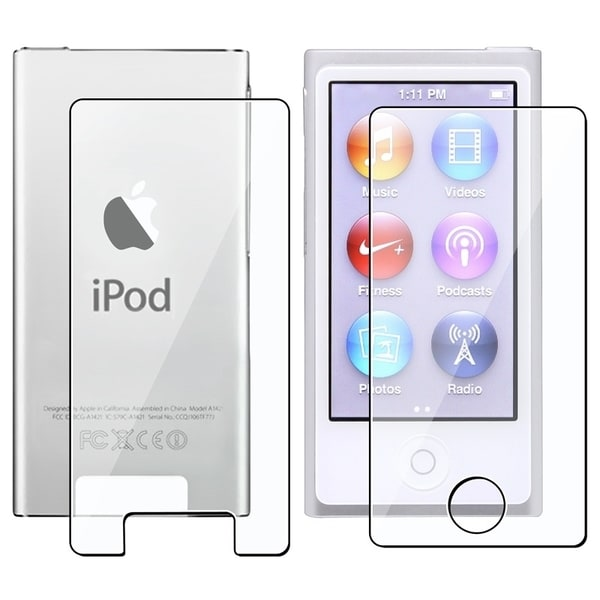INSTEN 2-piece LCD Protector for Apple iPod Nano 7 (Pack of 5)