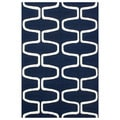 nuLOOM Hand-hooked Abstract Moroccan Trellis Wool Rug (3'6 x 5'6)