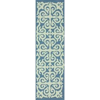 nuLOOM Handmade Chevron Wool Runner Rug (2'6 x 8')