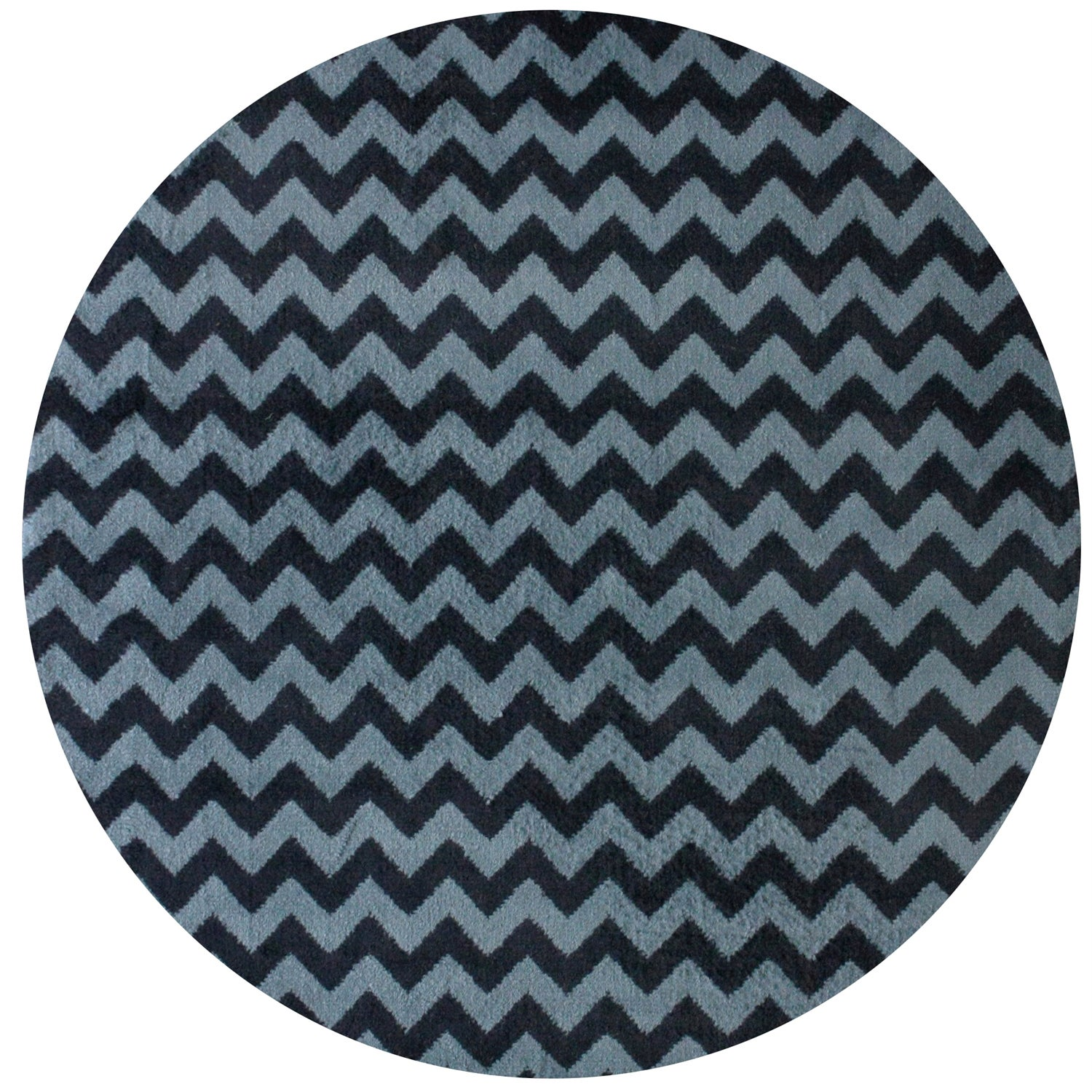 nuLOOM Alexa Chevron Vibe Zebra Round Synthetic Fiber Rug (6' Round) at Sears.com
