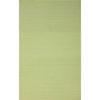 nuLOOM Handmade Indoor/ Outdoor Braided Light Green Rug (8' x 10')