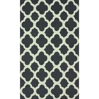 nuLOOM Handmade Moroccan Trellis Wool Area Rug (8'6 x 11'6)