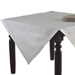Hemstitched Table Topper