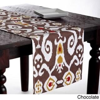 Ikat Design Table Runner