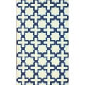 nuLOOM Handmade Marrakesh Trellis Abstract Ivory Wool Rug (5' x 8')