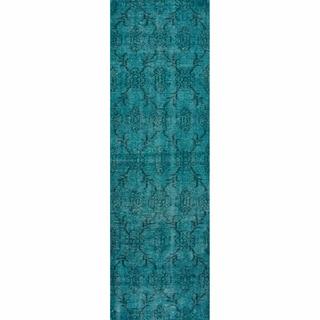 turquoise rug runner