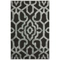 nuLOOM Handmade Marrakesh Grey Faux Silk/ Wool Rug (3' x 5')