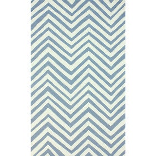 nuLOOM Indoor/ Outdoor Contemporary Chevron Rug (9' x 12')