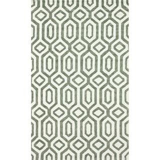 nuLOOM Handmade Marrakesh Trellis Cotton Chenille Rug (4' x 6')