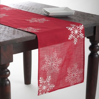 Snowflake Design Table Topper/Runner
