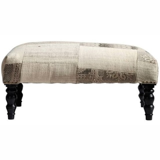 nuLOOM Ethnic Chic Patchwork Wood Bench