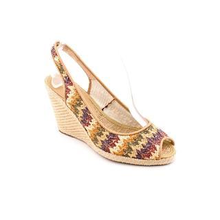Andre Assous Women's 'Payton' Beige Print Textile Dress Shoes