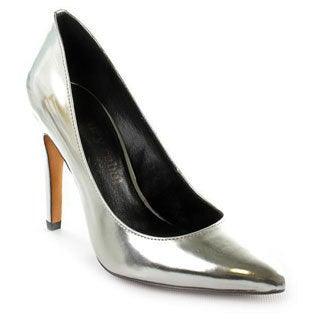 Luxury Rebel Women's 'Victoria' Silver Synthetic Dress Shoes