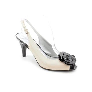 Image is loading Womens-Shoes-Bandolino-FLASHY-Dress-Pumps-Open-Heels