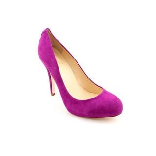 Ivanka Trump Women's 'Pinkish' Purple Regular Suede Dress Shoes