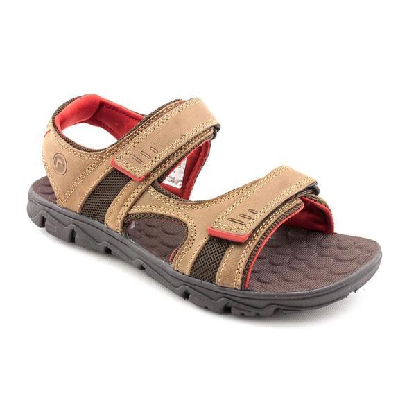 Rockport Men's 'Rocsports Lite Summer Three-Strap' Brown Leather Sandals