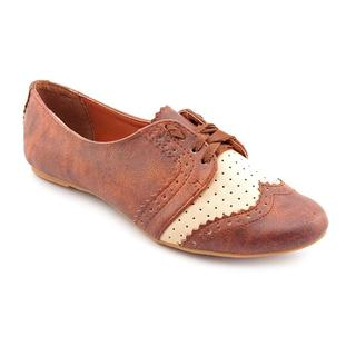 Not Rated Women's Tan 'Motivation' Synthetic Dress Shoes