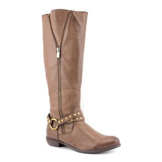 Volatile Women's 'Caged' Man-Made Brown Boots