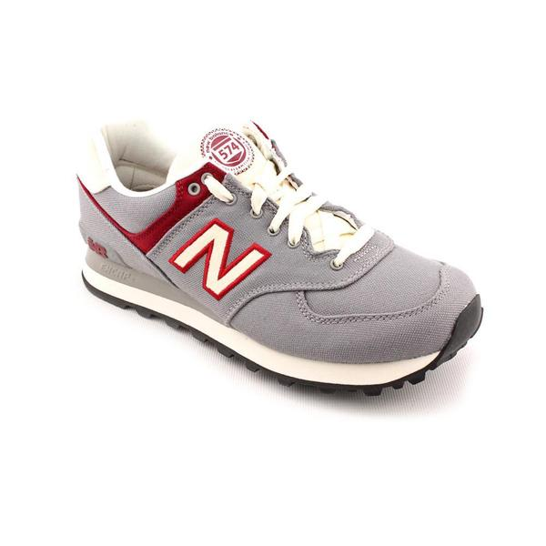 New Balance Men's 'ML574' Basic Textile Casual Shoes in Gray